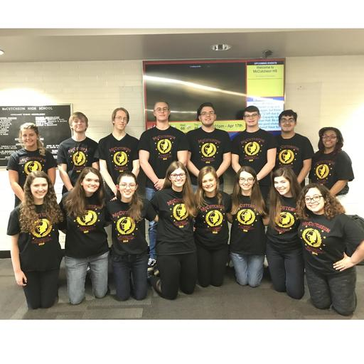 Great work by McCutcheon Academic Teams