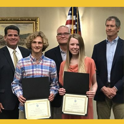 McCutcheon students are honored by Lafayette Noon Optimist Club
