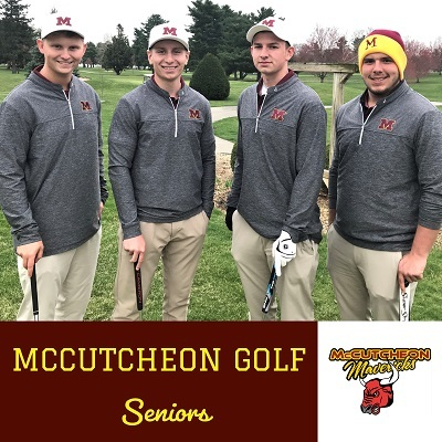 McCutcheon Boys Golf team swings into a promising season