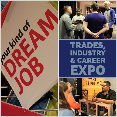 Students explore career options at expo
