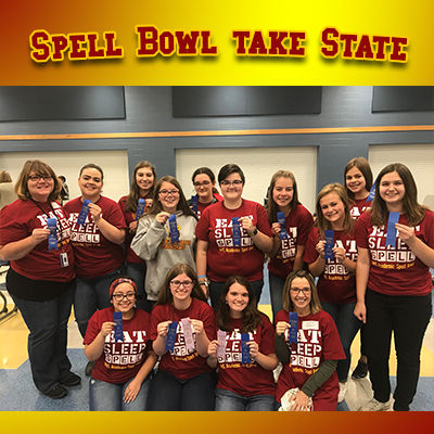 McCutcheon Academic Spell Bowl team qualifies for state