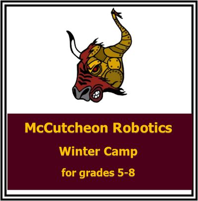 McCutcheon Robotics to host workshops for grades 5-8